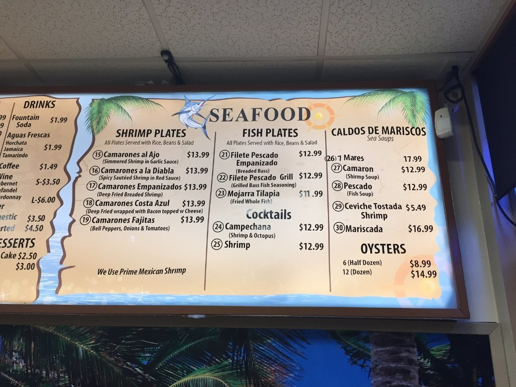 Cancun Mexican and Seafood